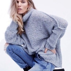 Free People She's All That Alpaca Sweater XS